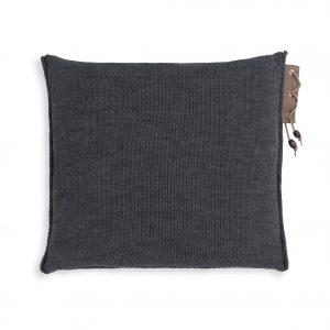 Knit Factory Jay - Antraciet achterkant