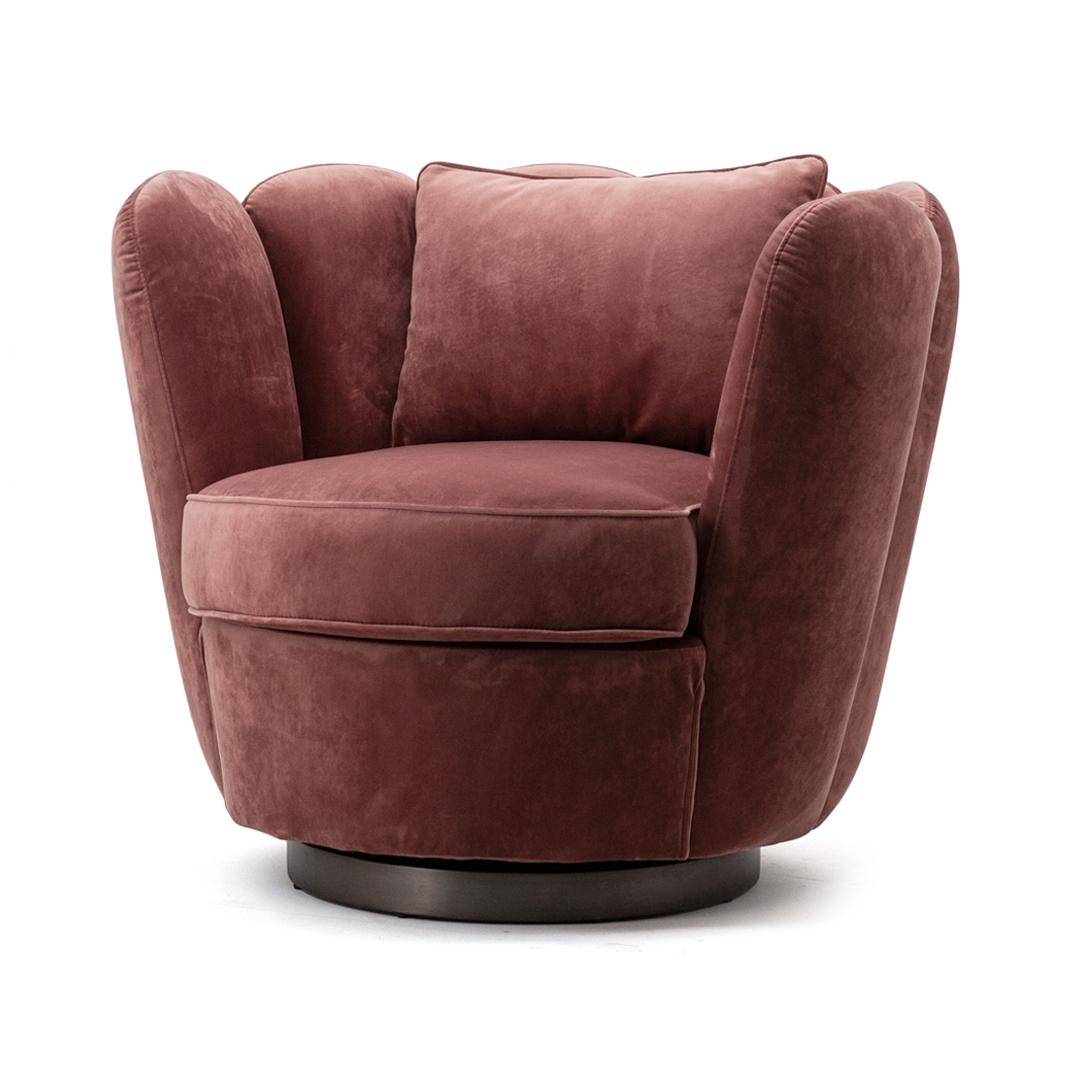 Fonkelnieuw Fauteuil Maria - oud roze   Lardes Wonen TM-36