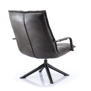 Fauteuil Mitchell topper antraciet