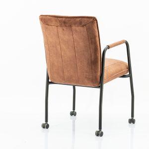 Meggy copper velours