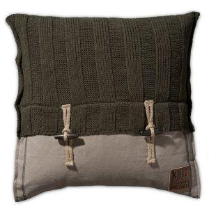 Knit Factory 6x6 Rib - Groen